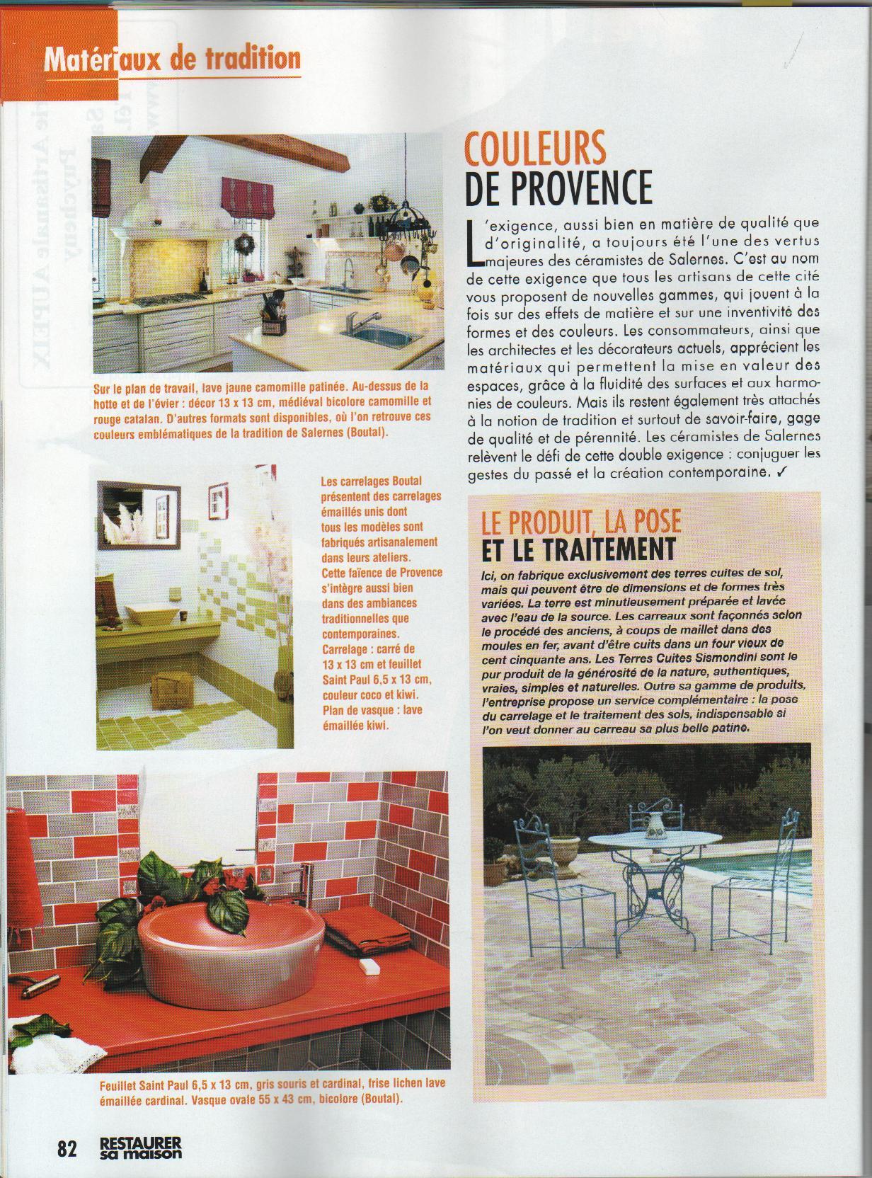 restaurer sa maison juillet aout 2010 revue de presse d coration design architecture. Black Bedroom Furniture Sets. Home Design Ideas