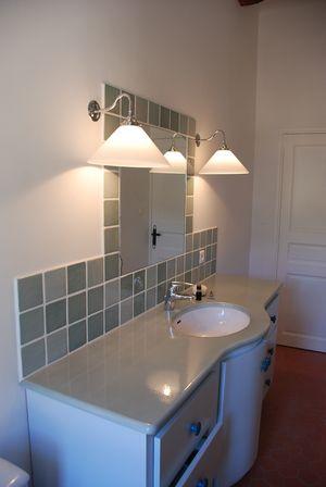 Salle de bain faience grise les carrelages de salle bains for Faience cuisine grise