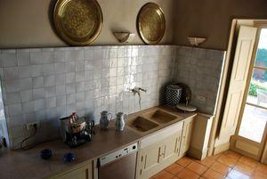 Carrelage Blanc Ancien- Salle de Bains - Cuisine - Faïence de ...