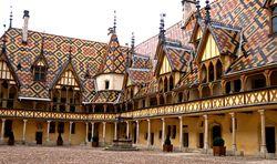 Tuiles émaillées de Bourgogne